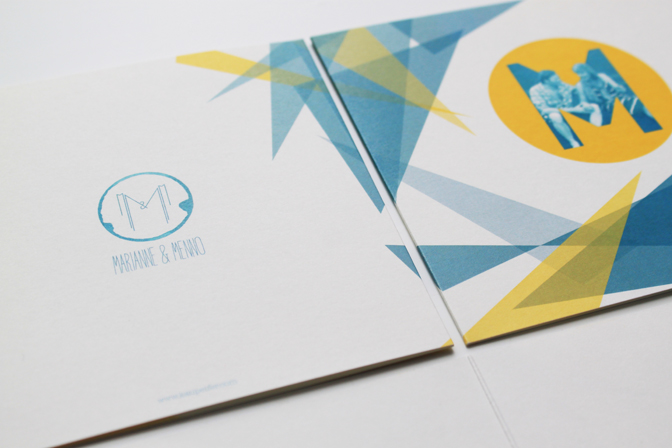 Wedding invitation M&M 07 - studio katipeifer