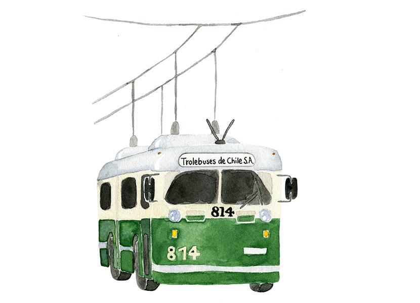 Chile 04 trolleybus - studio katipeifer