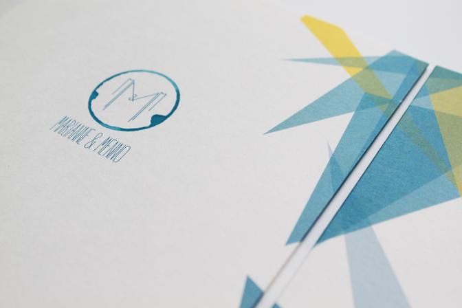 Wedding invitation M&M 02 - studio katipeifer