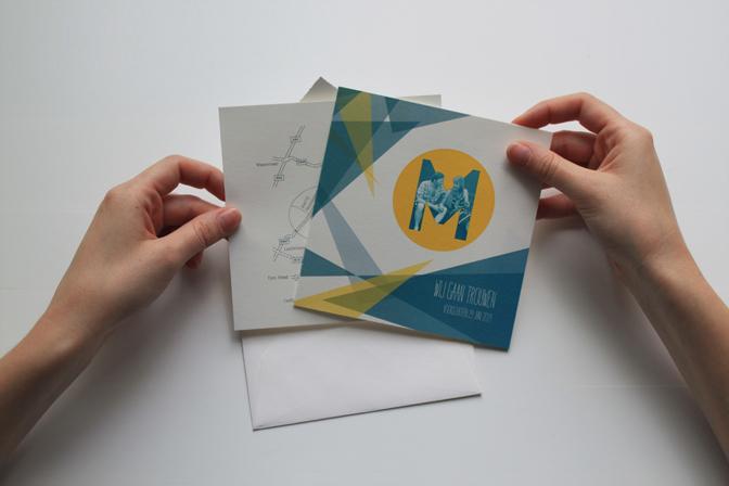 Wedding invitation M&M 05 - studio katipeifer
