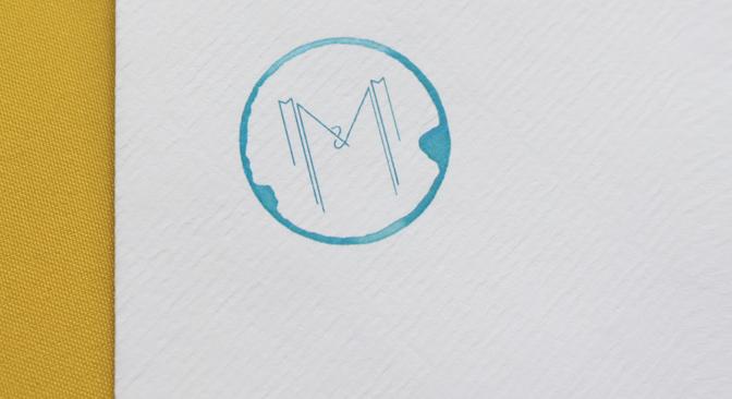 Wedding invitation M&M 08 - studio katipeifer