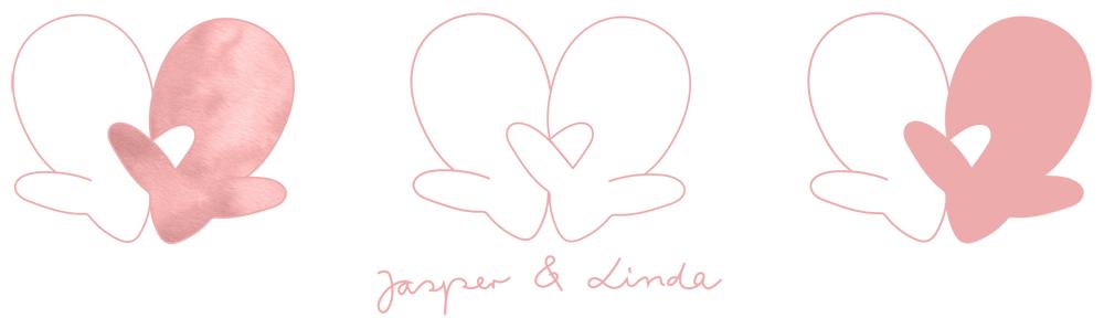 Wedding card J&L 03 logo - studio katipeifer