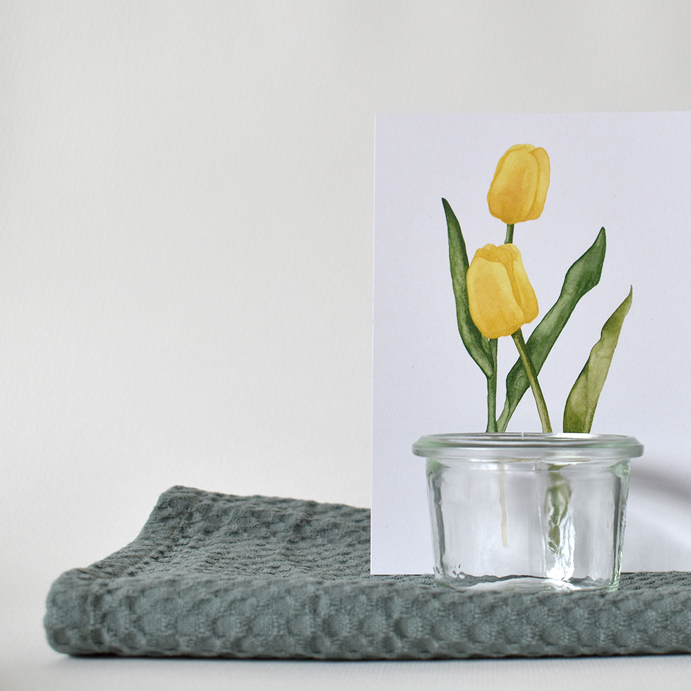 06 Journal Tulips postcards (21.06.2021) - studio katipeifer